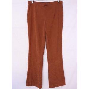 Vintage Tan Bootcut Pants